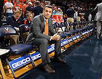 Virginia head coach Tony Bennett during an NCAA basketball game Monday Jan. 20, 2014 in Charlottesville, VA. Virginia defeated North Carolina 76-61.
