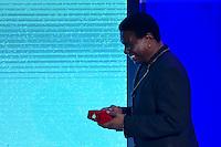 BRASÍLIA, DF, 07.11.2016 – MÉRITO-CULTURAL – O ministro da Cultura, Marcelo Calero, o cantor Neguinho da Beija-flor, a primeira-dama, Marcela Temer e o presidente Michel Temer e  durante cerimônia de entrega da Ordem do Mérito Cultural 2016 – Dona Ivone Lara, no Palácio do Planalto nesta segunda-feira, 07. (Foto: Ricardo Botelho/Brazil Photo Press)