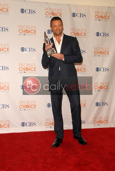 Hugh Jackman<br /> at the Press Room for the 2010 People's Choice Awards, Nokia Theater L.A. Live, Los Angeles, CA. 01-06-10<br /> David Edwards/Dailyceleb.com 818-249-4998