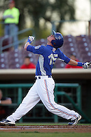 May 26, 2010: Anthony Hatch of the Inland Empire 66'ers during game against the Bakersfield Blaze at Arrowhead Credit Union Park in San Bernardino,CA.  Photo by Larry Goren/Four Seam Images