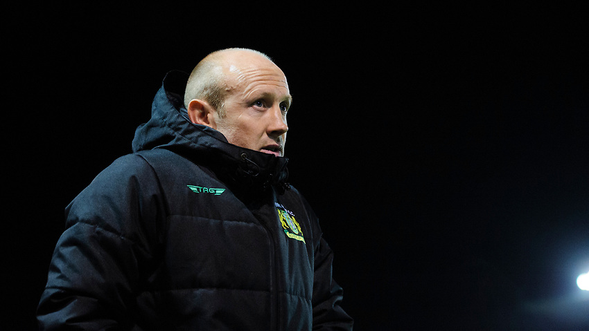 Yeovil Town manager Darren Way<br /> <br /> Photographer Chris Vaughan/CameraSport<br /> <br /> The EFL Sky Bet League Two - Lincoln City v Yeovil Town - Friday 8th March 2019 - Sincil Bank - Lincoln<br /> <br /> World Copyright © 2019 CameraSport. All rights reserved. 43 Linden Ave. Countesthorpe. Leicester. England. LE8 5PG - Tel: +44 (0) 116 277 4147 - admin@camerasport.com - www.camerasport.com