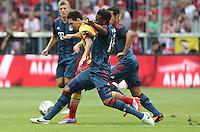 MUNIQUE, ALEMANHA, 24.07.2013 - AMISTOSO INTERNACIONAL - BAYERN DE MUNIQUE X BARCELONA - Lionel Messi jogador do Barcelona durante partida amistosa contra o Bayern de Munique, em jogo amistoso no Allianz Arena em Munique na Alemanha, nesta quarta-feira, 24. O Bayern de Munique venceu por 2 a 0.(Foto: Pixathlon / Brazil Photo Press).