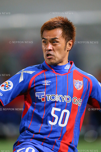 Yuichi Komano (FC Tokyo), <br /> FEBRUARY 9, 2016 - Football / Soccer : <br /> AFC Champions League 2016 Play-off <br /> between FC Tokyo 9-0 Chonburi FC <br /> at Tokyo Stadium, Tokyo, Japan. <br /> (Photo by YUTAKA/AFLO SPORT)