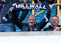 A Millwall FC fan seen during the Sky Bet Championship match between Millwall and Birmingham City at The Den, London, England on 21 October 2017. Photo by Carlton Myrie.