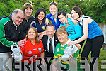 Noelle McSweeney and Debbie Baxter who are going to do the Dingle marathon on Saturday in aid of Kerry Cork Cancer Link Bus, pictured with Sean Kelly, Sean Prendergast, Mary Lynch, Donna Doonan, Mary A Cronin, Eileen Horgan and Mary Walsh.....................Christy O'Mahony, captain Beaufort Golf club and Irene McCarthy, Lady Captain Beaufort Golf Club pictured with James Lucey and Sheila McCarthy, who were the winners in their Captain Prize Competition at the course on Sunday. Also pictured are Frank Coffey, President, Sean Coffey, vice captain, Teresa Clifford, Margaret Guerin, Josephine O'Shea, Gretta Hurley, Renee Clifford, Peggy O'Riordan, Maureen Rooney, Mary Barrett, Robin Suter, Gearoid Keating, Jim Hurley, Gabhan O'Loughlin, Rory Browne, Mike Quirke, Matt Templeman and Simon Rainsford...Picture: Ger Cronin LMPA (087) 0522010....PR SHOT..NO REPRODUCTION FEE.............................................................................................................................................................................................................................................