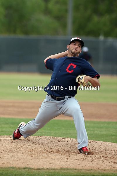 Antonio Romero - Cleveland Indians 2016 spring training (Bill Mitchell)