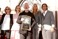 LOS ANGELES - DEC 4:  Jessica Lange, Sarah Paulson, Ryan Murphy, Gwyneth Paltrow, Brad Falchuk at the Ryan Murphy Star Ceremony on the Hollywood Walk of Fame on December 4, 2018 in Los Angeles, CA