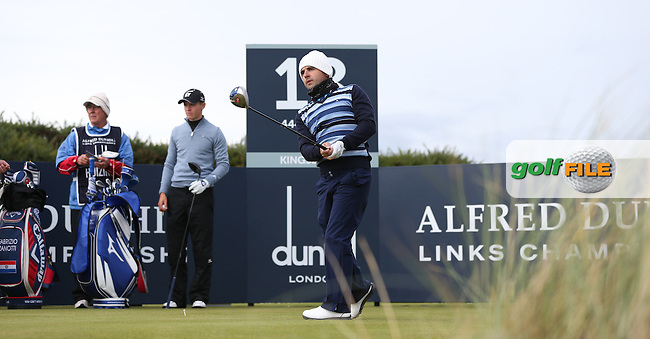 Fabrizio Zanotti (PAR) during R3 at Kingsbarns of the 2014 Alfred Dunhill Links Championship, The Old Course, St Andrews, Fife, Scotland. Picture:  David Lloyd / www.golffile.ie