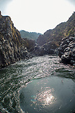 USA, Oregon, Wild and Scenic Rogue River in the Medford District, Mule Creek Canyon and Coffee Pot Rapids