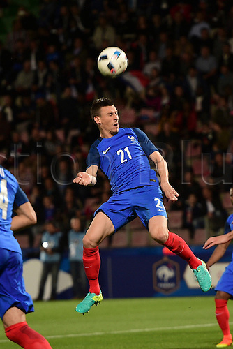 04.06.2016. Stade Saint Symphorien, Metz, France. International football freindly,France versus Scotland.  Laurent Koscielny (France)