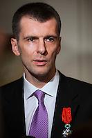 Mikhail Prokhorov Legion Of Honour Award