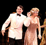 Blythe Danner Returns to Broadway: Matthew Broderick, Kelli O'Hara.during the Curtain Call for 'Nice Work If You Can Get It'  at the Imperial Theatre in New York City on December 19, 2012