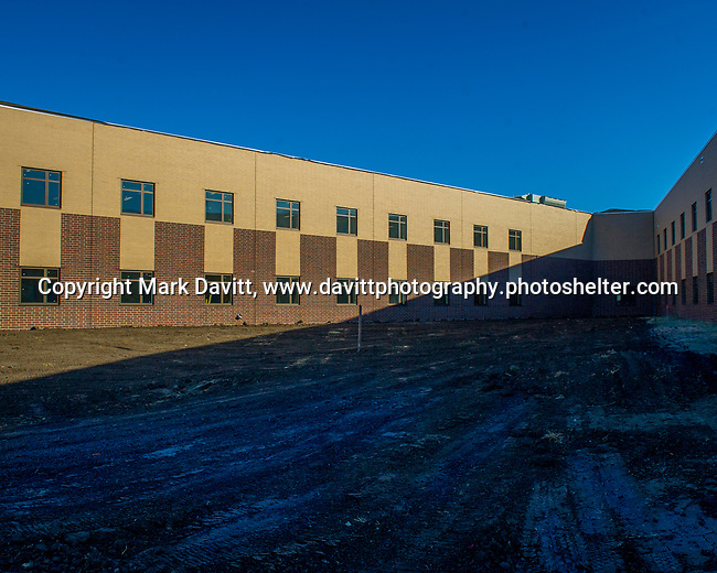 Bondurant-Farrar High School is in the final stages of completing it's new addition. The news west-end addition leaves a green open space to the current west end.