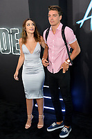 Ashley Iaconetti &amp; Dean Unglert at the premiere for &quot;Atomic Blonde&quot; at The Theatre at Ace Hotel, Los Angeles, USA 24 July  2017<br /> Picture: Paul Smith/Featureflash/SilverHub 0208 004 5359 sales@silverhubmedia.com