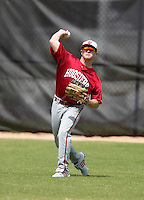 Indiana Hoosiers Brian Lambert #10 during a game vs UMass at Lake Myrtle Main Field in Auburndale, Florida;  March 16, 2011.  Indiana defeated UMass 11-10.  Photo By Mike Janes/Four Seam Images