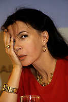 Carole Laure<br />  au Festival des Films du monde 1985<br /> <br /> (date inconnue)<br /> <br /> PHOTO : Agence Quebec Presse