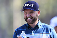 Andy Sullivan (ENG) on the 10th tee during Saturday's Round 3 of the 2018 Turkish Airlines Open hosted by Regnum Carya Golf &amp; Spa Resort, Antalya, Turkey. 3rd November 2018.<br /> Picture: Eoin Clarke | Golffile<br /> <br /> <br /> All photos usage must carry mandatory copyright credit (&copy; Golffile | Eoin Clarke)