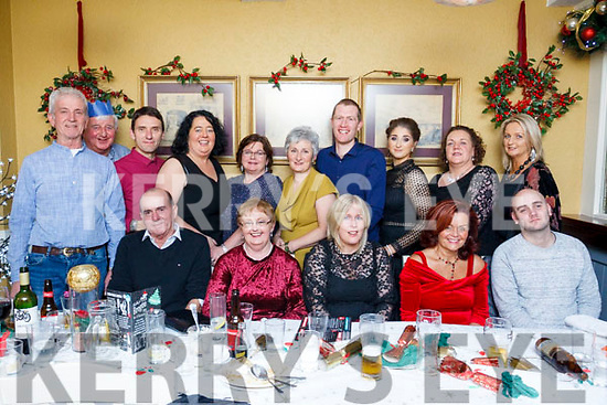 St Pats Day Care Centre Christmas Party. Seated l-r, Michael McCannon, Mary Harrington, Sally O&rsquo;Connor, Geraldine O&rsquo;Driscoll and Luke O&rsquo;Sullivan.<br /> Back l-r, Jimmy Curtain, Pat Ashe, Pat Commane, Katie Flynn, Mary Foley, Geraldine Nolan, Sharneta Dean, Tracy Moore, Anne Coulihan and Martina Devine.