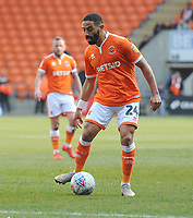 Blackpool's Liam Feeney<br /> <br /> Photographer Kevin Barnes/CameraSport<br /> <br /> The EFL Sky Bet League One - Blackpool v Plymouth Argyle - Saturday 30th March 2019 - Bloomfield Road - Blackpool<br /> <br /> World Copyright © 2019 CameraSport. All rights reserved. 43 Linden Ave. Countesthorpe. Leicester. England. LE8 5PG - Tel: +44 (0) 116 277 4147 - admin@camerasport.com - www.camerasport.com