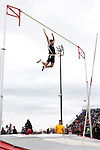 "SIOUX FALLS, SD - MAY 3:  Scott Greenman from the University of Sioux Falls clears 13' 6"" in the pole vault Saturday at the 2014 Howard Wood Dakota Relays. (Photo by Dave Eggen/Inertia)"