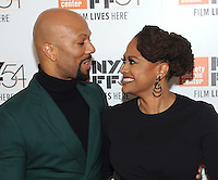 NEW YORK, NY - SEPTEMBER 30: Common and Director Ava DuVernay  attends the 54th New York Film Festival opening night gala presentation and '13th' world premiere at Alice Tully Hall at Lincoln Center on September 30, 2016 in New York City.  Photo Credit: John Palmer/MediaPunch