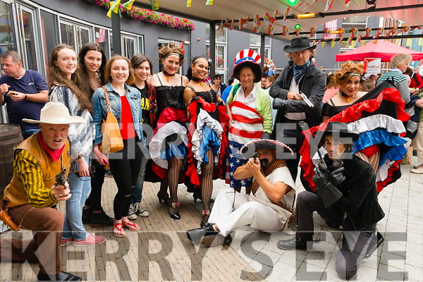 Wild West Troupe taking over Killarney streets as a part of 4th of July Celebrations in Killarney. Photo by Marek Hajdasz www.mhphotos.ie