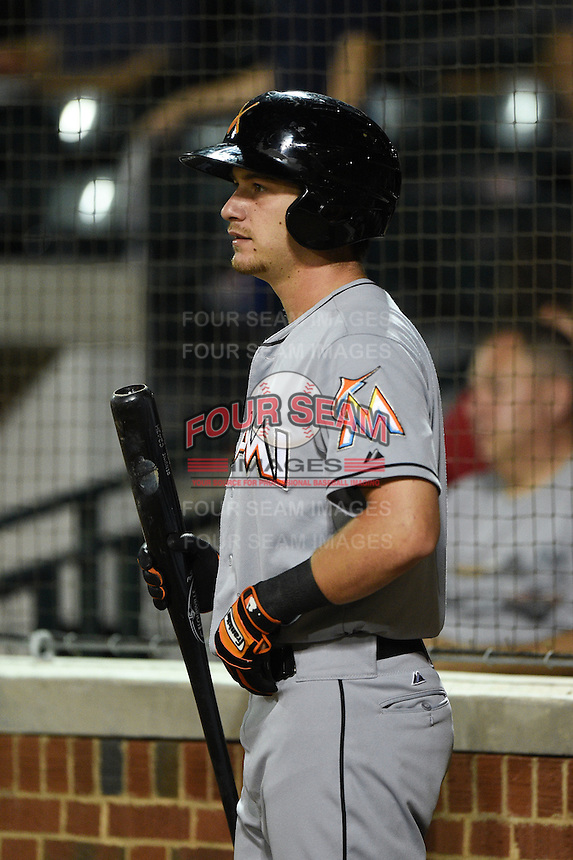 Salt River Rafters infielder Justin Bohn (11) during an Arizona Fall League game against the Mesa Solar Sox on October 18, 2014 at Cubs Park in Mesa, Arizona.  Mesa defeated Salt River 8-4.  (Mike Janes/Four Seam Images)