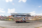 Hungarian driver Norbert Kiss belonging German team Tankpool 24 Racing  during the fist race R1 of the XXX Spain GP Camion of the FIA European Truck Racing Championship 2016 in Madrid. October 01, 2016. (ALTERPHOTOS/Rodrigo Jimenez)