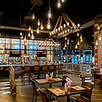 Eldorado Scioto Downs Racino Courtyard Patio & The Brew Brothers Restaurant