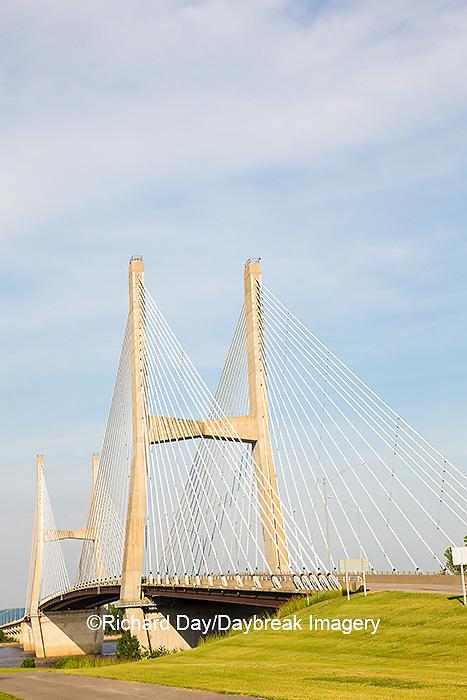 65095-02608 Bill Emerson Memorial Bridge over Mississippi River Cape Girardeau, MO
