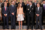 Princess Letizia of Spain attends in audience to the winners at the International Festival of Children's Communication 'El Chupete - The Pacifier' 2013..September 11,2011. (ALTERPHOTOS/Acero)