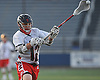 Taylor Strough #12 of Cold Spring Harbor snaps off a shot for a goal during the NYSPHSAA varsity boys lacrosse Class C state semifinals against Pleasantville at Hofstra University on Wednesday, June 8, 2016. He scored four goals in Cold Spring Harbor's 12-10 win.