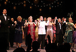 Chris Sullivan, Estelle Parsons, Judy Kaye, Matthew Broderick, Kelli O'Hara, Michael McGrath & Jennifer Laura Thompson.during the Broadway Opening Night Curtain Call for  'Nice Work If You Can Get It' at the ImperialTheatre on 4/24/2012 in New York City.