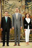 King Felipe of Spain Meet Sr. Masami Yamamoto