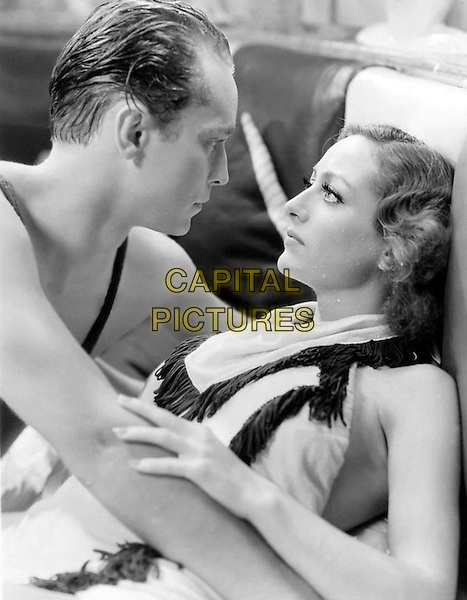 FRANCHOT TONE & JOAN CRAWFORD .in Dancing Lady.*Filmstill - Editorial Use Only*.CAP/PLF.Supplied by Capital Pictures.