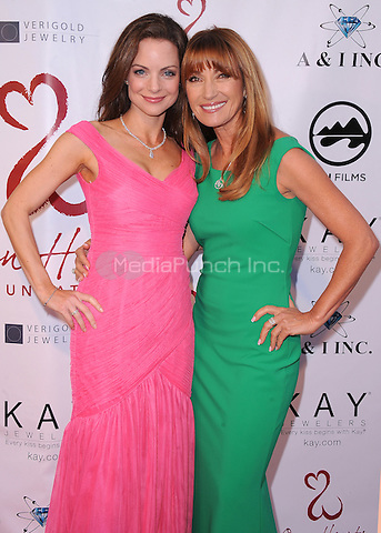 MALIBU, CA - MAY 10:  Kimberly Williams-Paisley and Jane Seymour at the 4th Annual Open Hearts Gala at a private residence on May 10, 2014 in Malibu, California. Credit: PGSK/MediaPunch