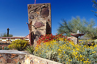 Taliesen West, Frank Lloyd Wright, Scottsdale, Arizona, AZ, Taliesen West, winter home and studio of renowned architect Frank Lloyd Wright in Scottsdale. International headquarters for the Frank Lloyd Wright Foundation.