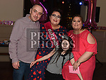 Chloe Leech celebrating her 21st birthday in the Thatch with parents Charlie and Sinead and sister Hannah. Photo:Colin Bell/pressphotos.ie