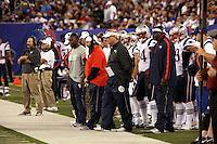 Seitenlinie der Patriots