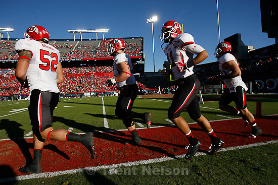 Trent Nelson  |  The Salt Lake Tribune.Utah faces Arizona, college football at Arizona Stadium in Tucson, Arizona, Saturday, November 5, 2011.