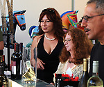 """A view of some of the attendees at the Saugerties Chamber of Commerce hosted, """"Rockin' Gala and Auction"""" featuring Rocking Horse Statues, held at the SPAF (Saugerties Performing Arts Factory) in Saugerties, NY, on Saturday, September 16, 2017. Photo by Jim Peppler. Copyright/Jim Peppler-2017."""