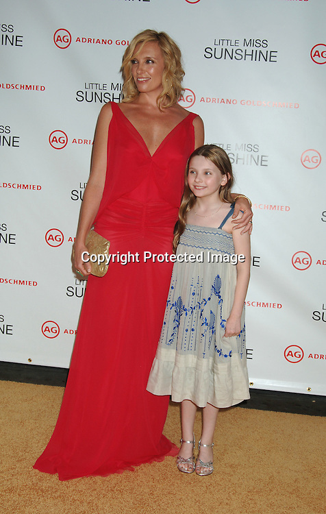"""Toni Collette and Abigail Breslin..at The New York Premiere of """"Little Miss Sunshine"""" starring ..Greg Kinnear, Toni Collette and Abigail Breslin on July 25, 2006 at The AMC LoewsLincoln Theatre. ..Robin Platzer, Twin Images"""