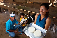 Barroso_MG, Brasil...Produtores de queijo que utiliza uma tecnica aprendida gracas a um tecnico suico trazido para a cidade para auxiliar os pequenos produtores...The cheese producers using a technique learned to a Swiss man, He brought to the city to help the small producers...Foto: LEO DRUMOND / NITRO