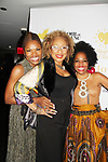 Hearts of Gold CEO Deborah Koenigsberger & Tamara Tunie & Rhonda Ross - Hearts of Gold All That Glitters 25th Anniversary VIP Reception and Live Auction celebrating 25 years of support to New York City's homeless mothers and their children on November 7, 2019 at the 40/40 Club, New York City, New York.(Photo by Sue Coflin/Max Photos)