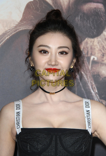 Hollywood, CA - February 15: Jing Tian, At Premiere Of Universal Pictures' &quot;The Great Wall&quot;, At TCL Chinese Theatre IMAX In California on February 15, 2017. <br /> CAP/MPI/FS<br /> &copy;FS/MPI/Capital Pictures