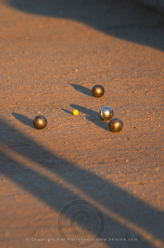 young people playing a game of boules tain l hermitage rhone france
