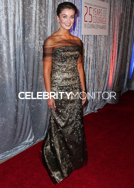 BEVERLY HILLS, CA, USA - OCTOBER 28: Carly Paoli arrives at the 25th Annual Courage in Journalism Awards held at the Beverly Hilton Hotel on October 28, 2014 in Beverly Hills, California, United States. (Photo by Xavier Collin/Celebrity Monitor)