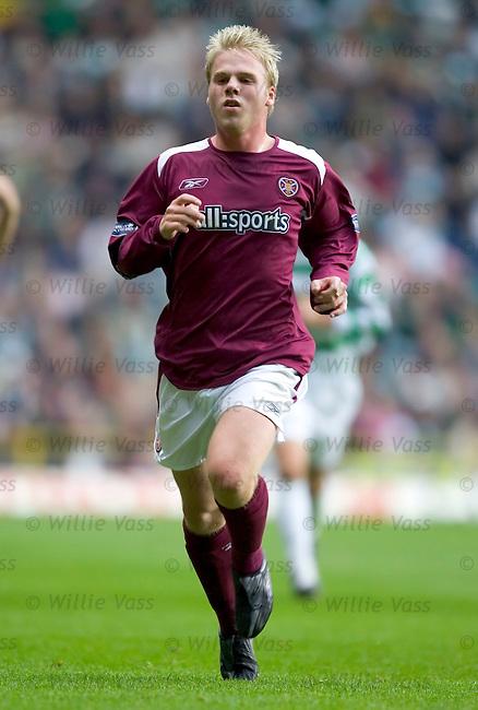 Graham Weir, Hearts.stock season 2004-2005.pic willie vass