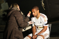 Pictured: Wayne Routledge 01 April 2015<br />