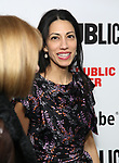 """Anna Wintour and Huma Abedin attends the """"Sea Wall / A Life"""" opening night at The Public Theater on February 14, 2019, in New York City."""